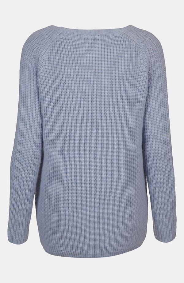 Alternate Image 2  - Topshop Scoop Neck Sweater