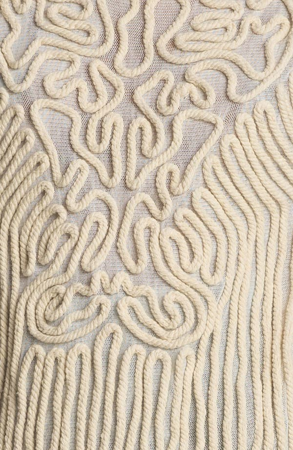 Alternate Image 3  - Carven Sleeveless Embroidered Rope Sweater