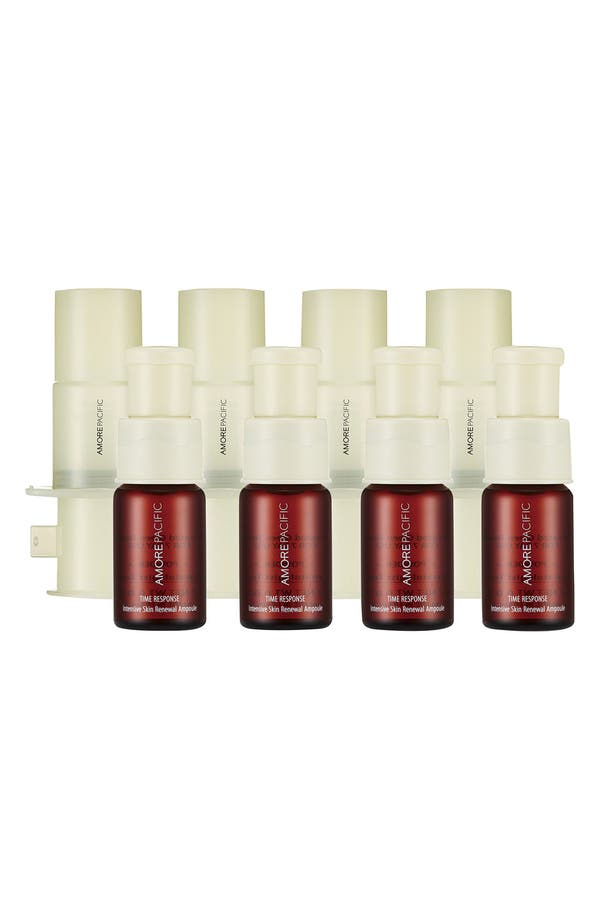 'Time Response' Intensive Skin Renewal Ampoule,                             Main thumbnail 1, color,                             No Color