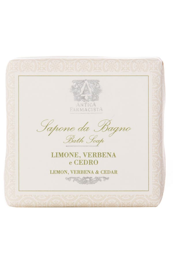 Alternate Image 1 Selected - Antica Farmacista 'Lemon, Verbena & Cedar' Bar Soap