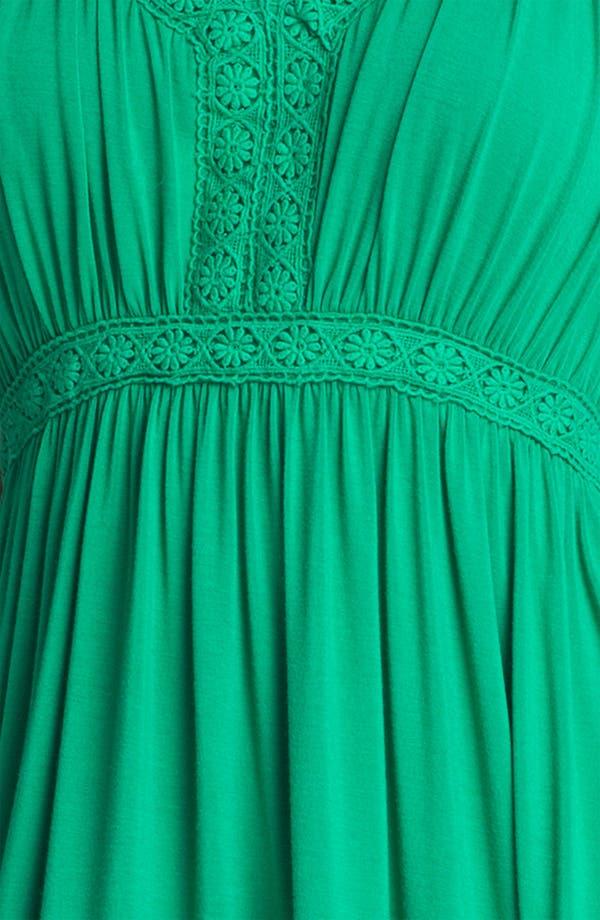 Alternate Image 3  - Press Crochet Trim Dress