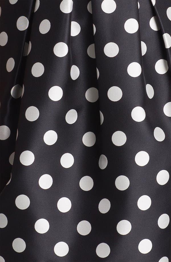 Alternate Image 3  - Eliza J Polka Dot Tulip Dress (Regular & Petite)