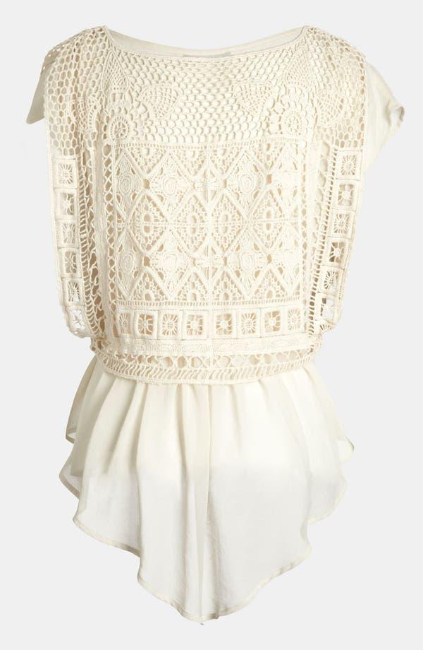 Alternate Image 3  - Creative Commune Crochet Top