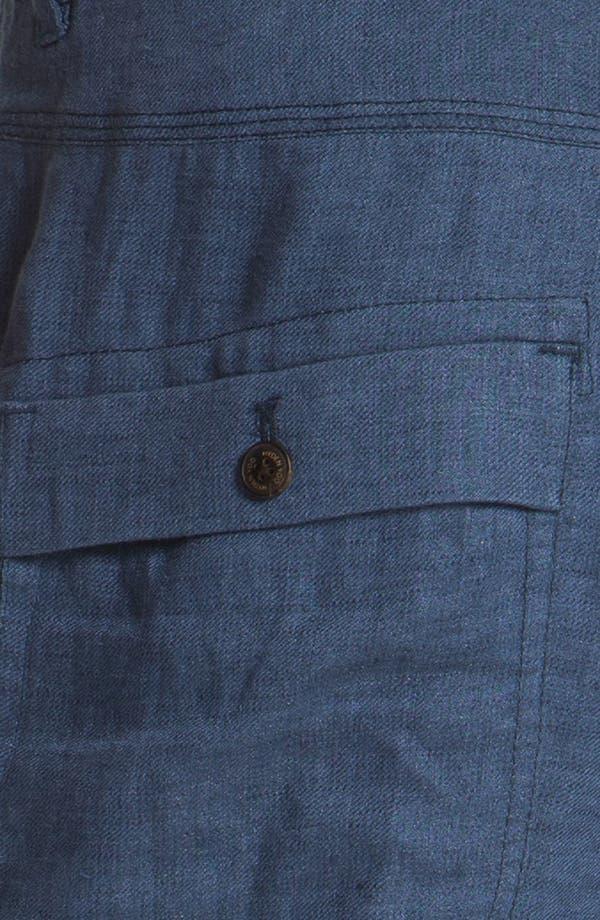 Alternate Image 3  - Hyden Yoo 'William' Linen Shorts