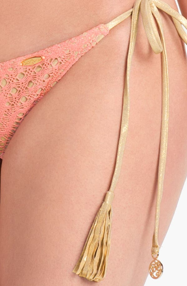 Alternate Image 5  - Luli Fama 'Delicia Wavey' Brazilian Bikini Bottoms