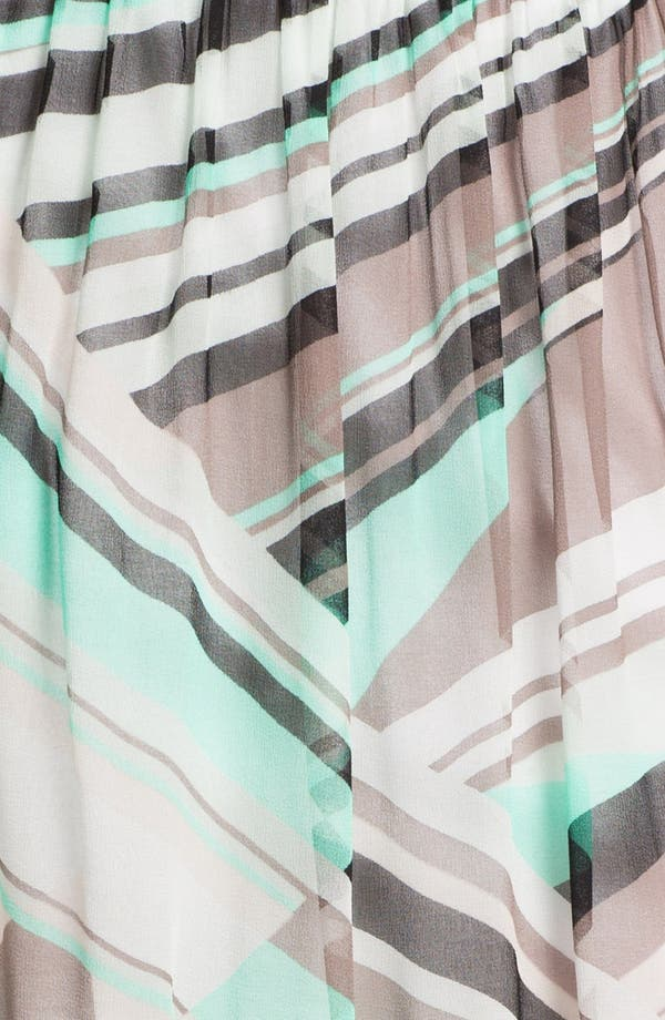 Alternate Image 3  - Ella Moss Print Chiffon Skirt