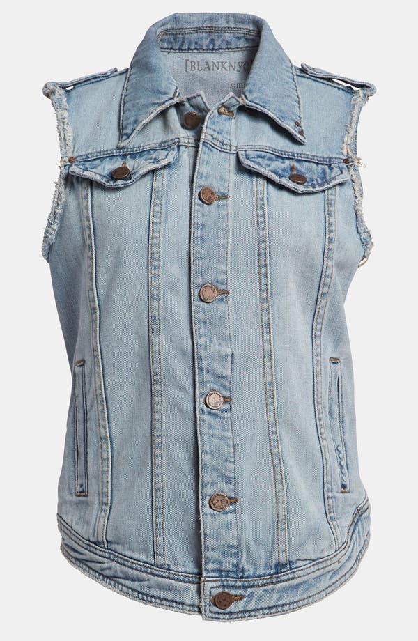 Alternate Image 1 Selected - BLANKNYC Cutoff Denim Vest