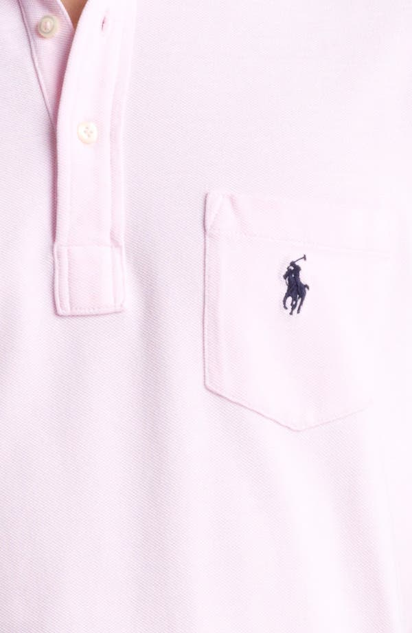 Alternate Image 3  - Polo Ralph Lauren Oxford Mesh Polo