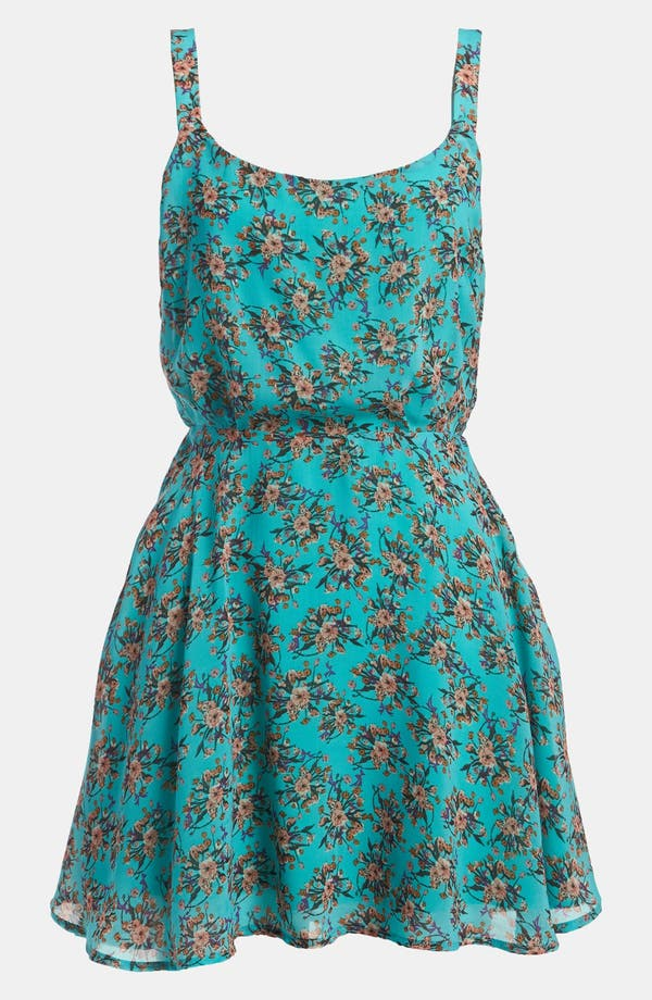 Main Image - Lucca Couture Short Floral Dress