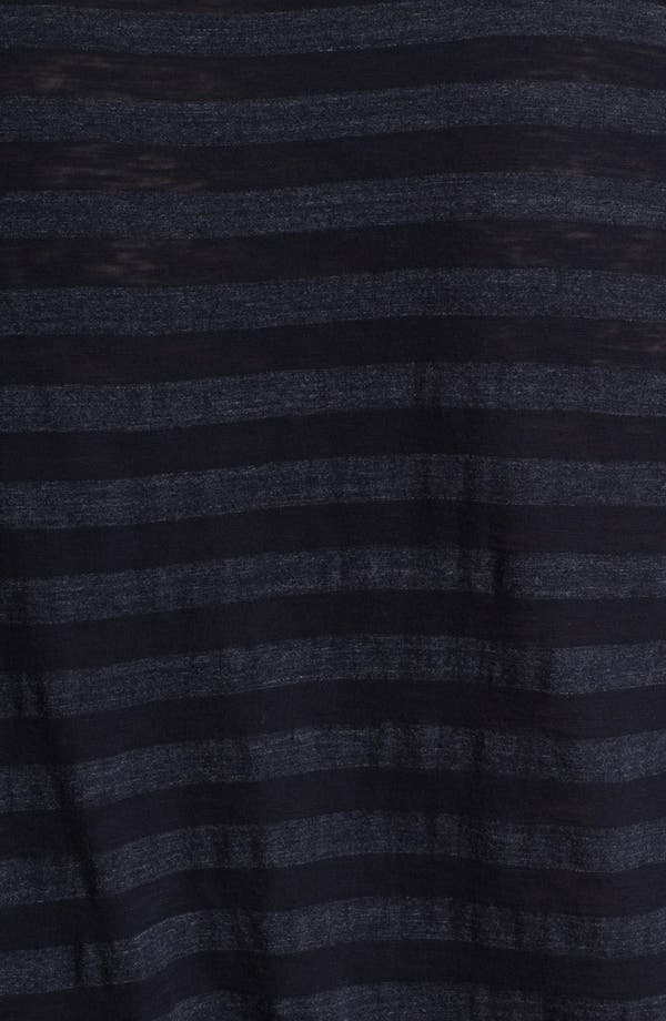 Alternate Image 3  - Todd Snyder Stripe Raglan Long Sleeve T-Shirt