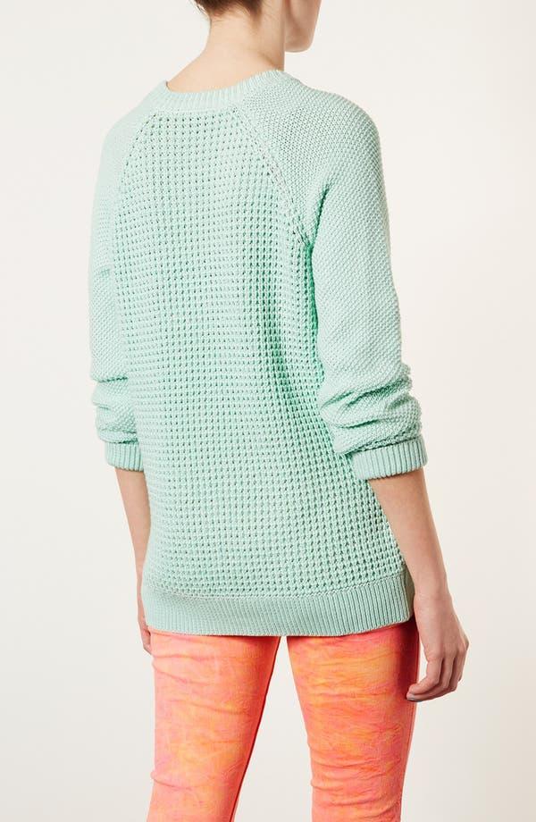 Alternate Image 2  - Topshop 'New Textured Grunge' Sweater