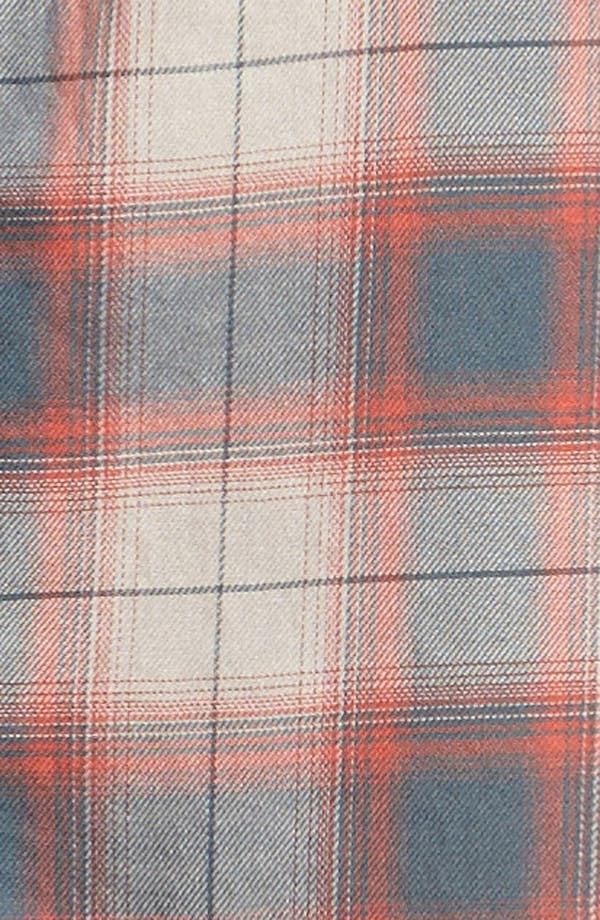 Alternate Image 3  - Leith Plaid Piped Western Shirt