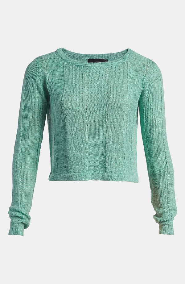 Main Image - MINKPINK 'Detention' Crop Sweater