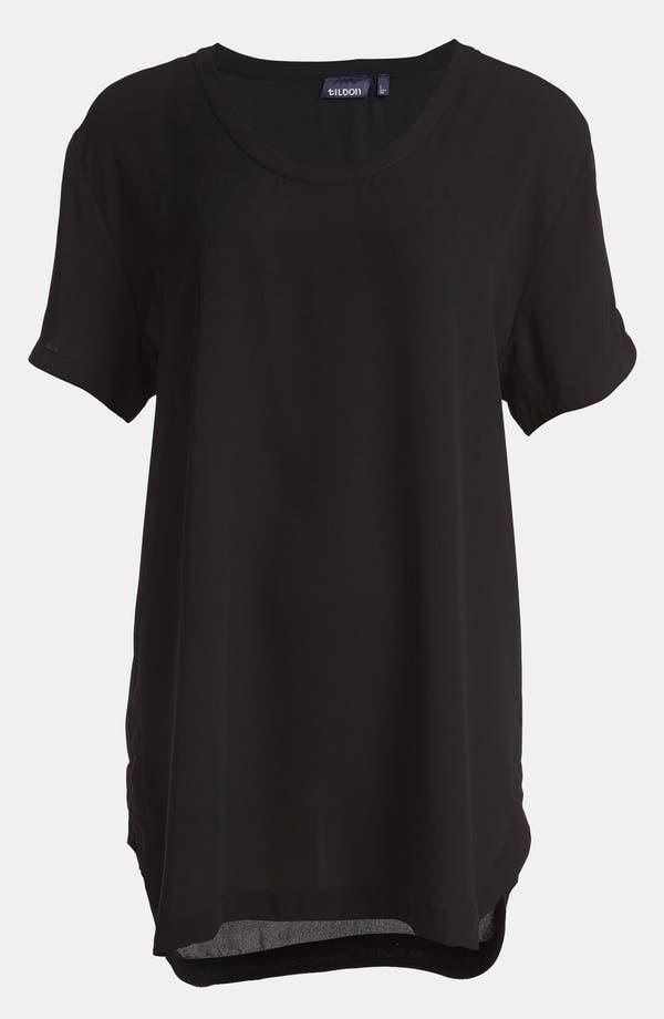 Main Image - Tildon Drapey Petal Sleeve Tunic Top
