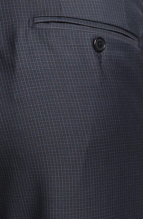 Alternate Image 3  - Santorelli Flat Front Trousers