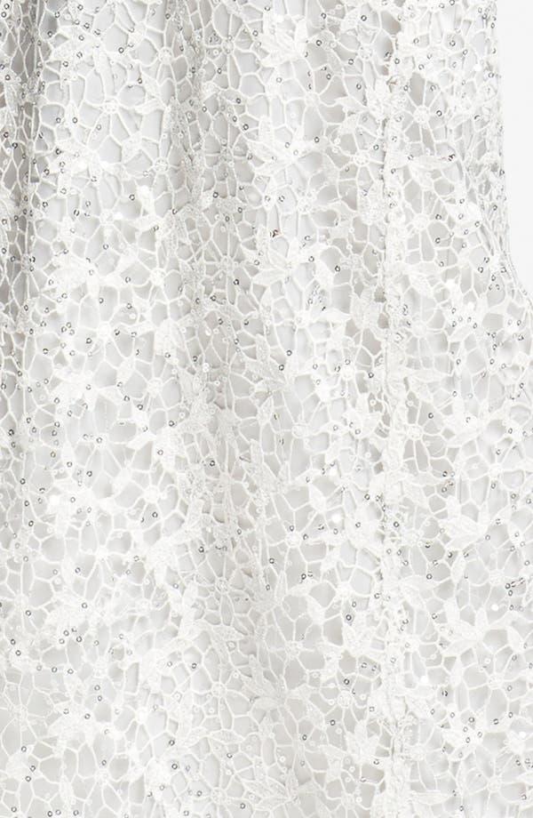 Alternate Image 3  - Kay Unger Embellished Illusion Neck Lace Gown