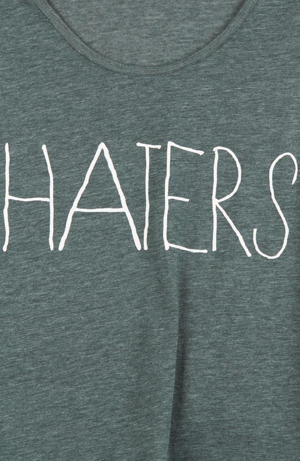 Alternate Image 4  - Topshop 'Haters' Crop Tank