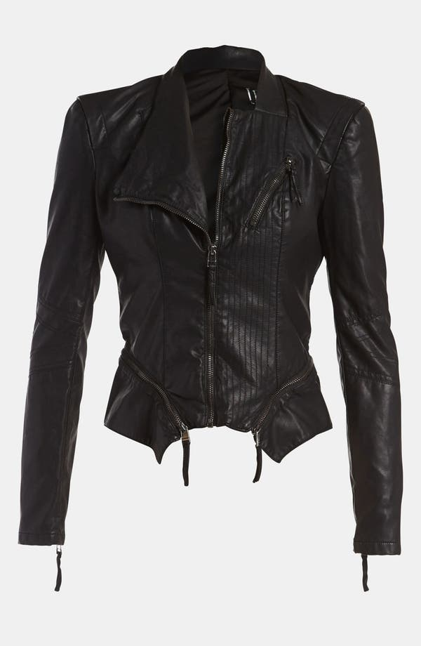 Alternate Image 4  - BLANKNYC Faux Leather Jacket