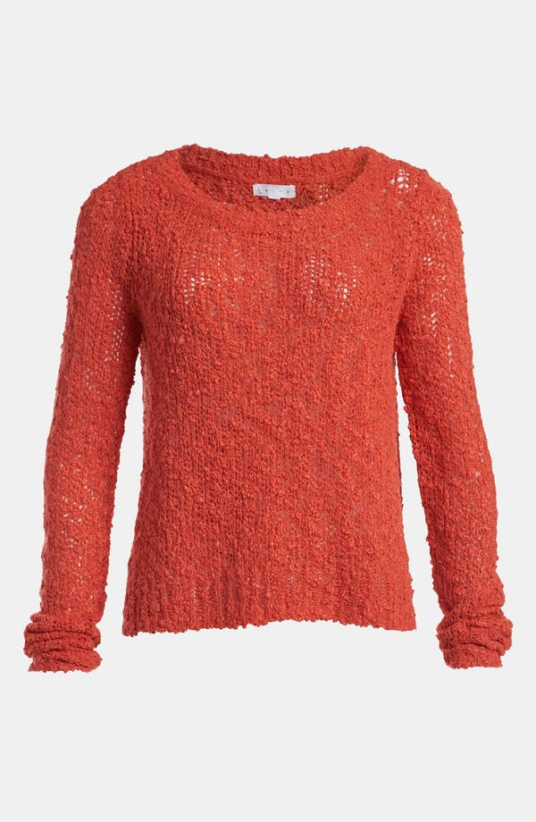 Alternate Image 1 Selected - Leith 'Tattered' Pullover
