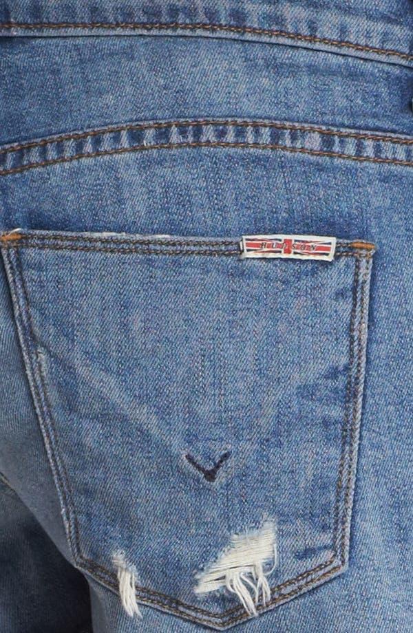 Alternate Image 3  - Hudson Jeans 'Amber' Raw Edge Denim Shorts (Indie)