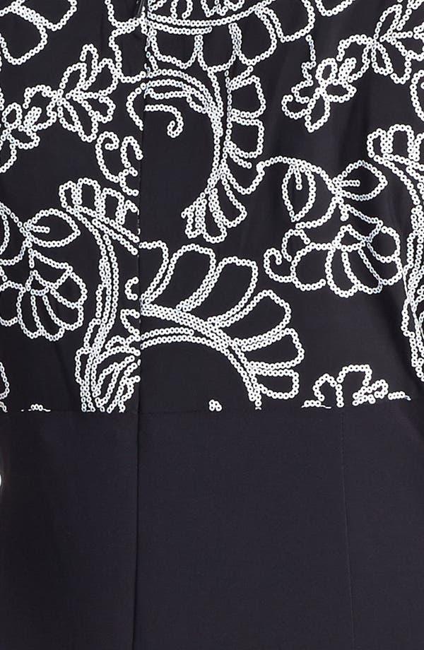 Alternate Image 3  - Alex Evenings Side Draped Dress & Jacket (Plus Size)