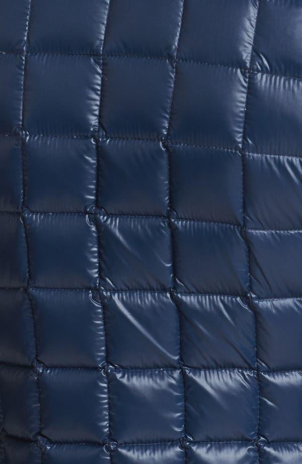 Alternate Image 3  - Laundry by Shelli Segal Soft Shell Trim Down Jacket