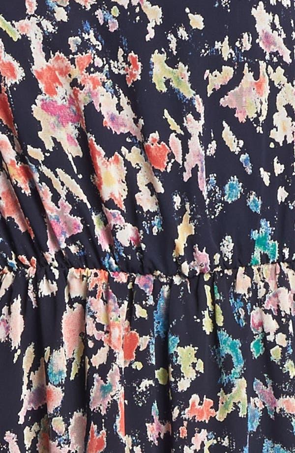 Alternate Image 3  - Lush Cutout Ruffle Chiffon Dress (Juniors)