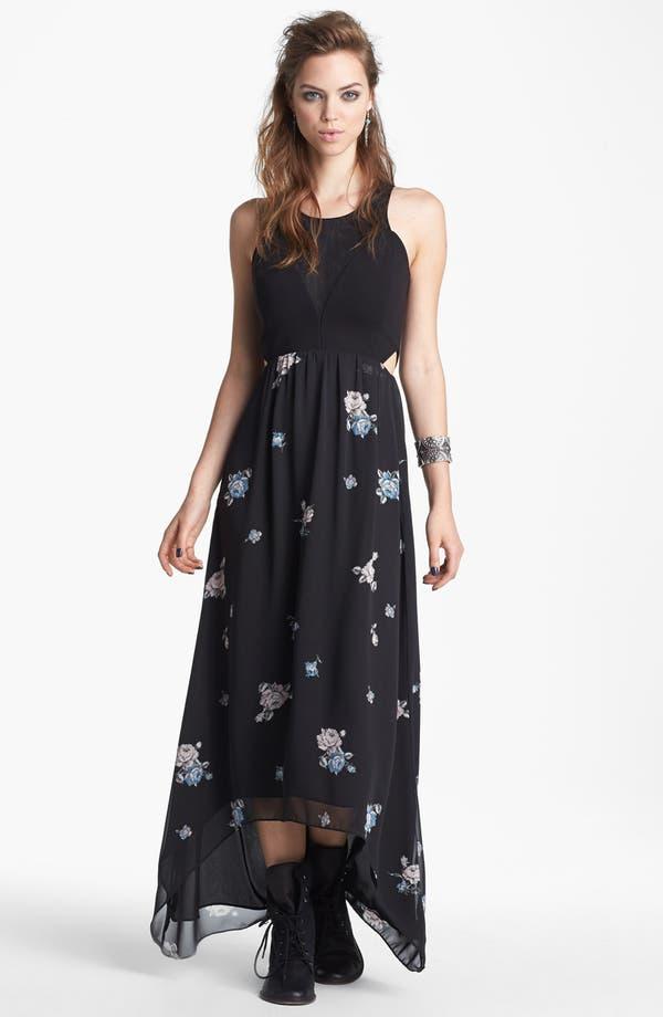 Main Image - Like Mynded Print Maxi Dress