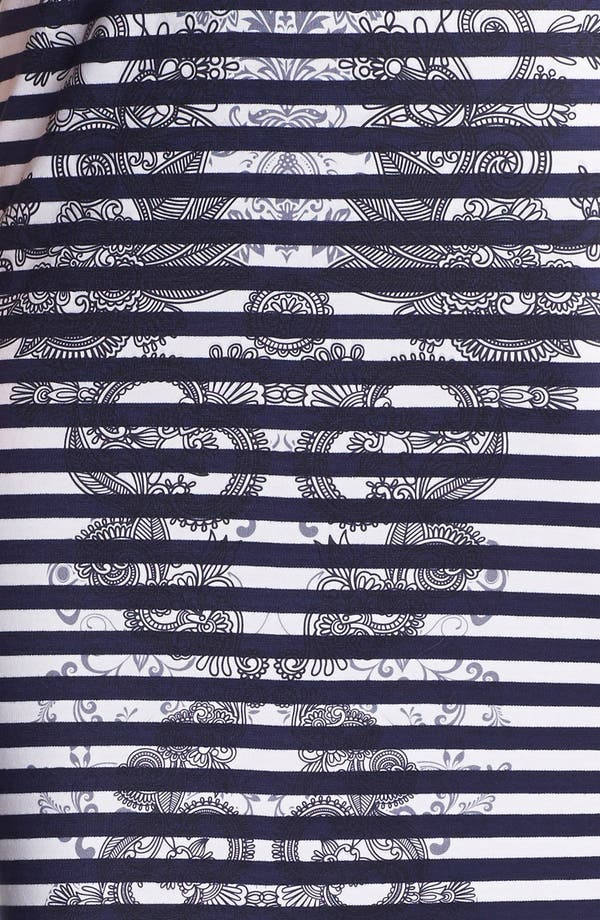 Alternate Image 3  - Bobeau Print Ponte Knit Pencil Skirt