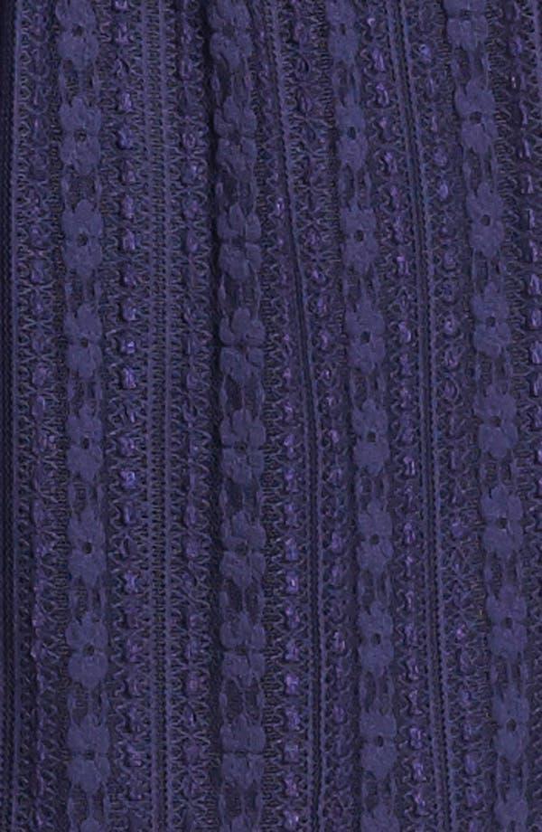 Alternate Image 3  - Robin K Lace Illusion Skater Dress (Juniors)