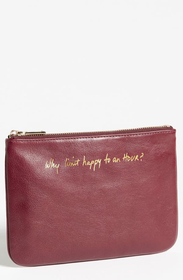 Alternate Image 1 Selected - Rebecca Minkoff 'Erin - Why Limit Happy to an Hour?' Leather Pouch