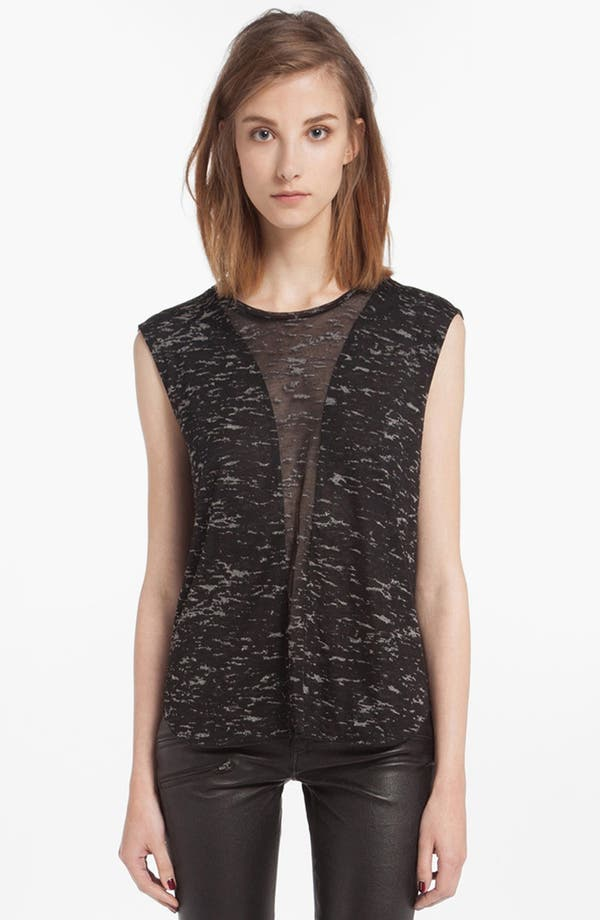 Main Image - maje 'Danny' Burnout Tank Top
