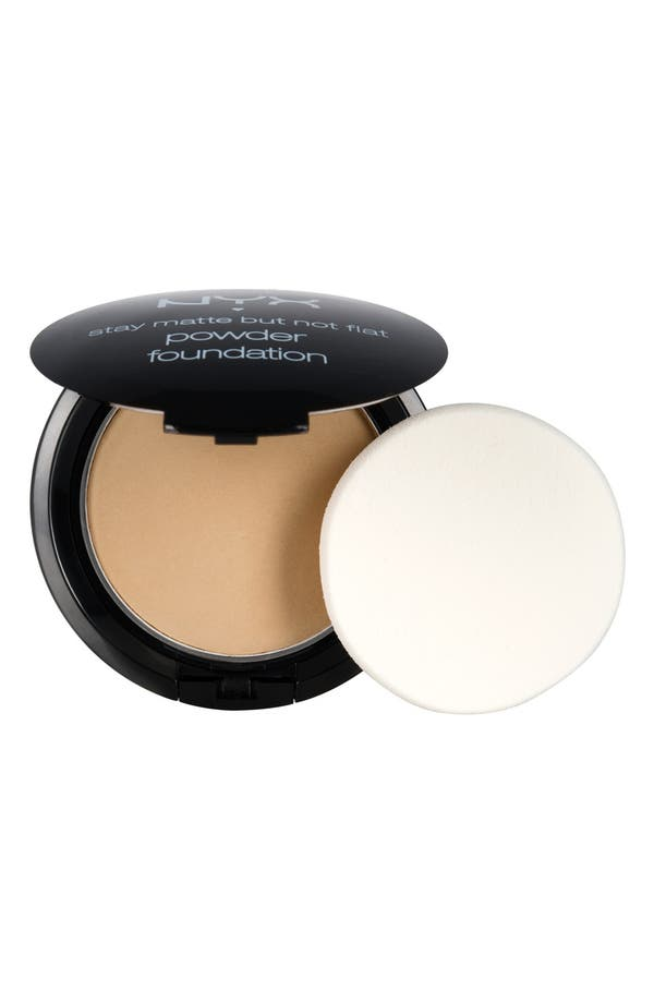 Alternate Image 1 Selected - NYX 'Stay Matte but Not Flat' Powder Foundation