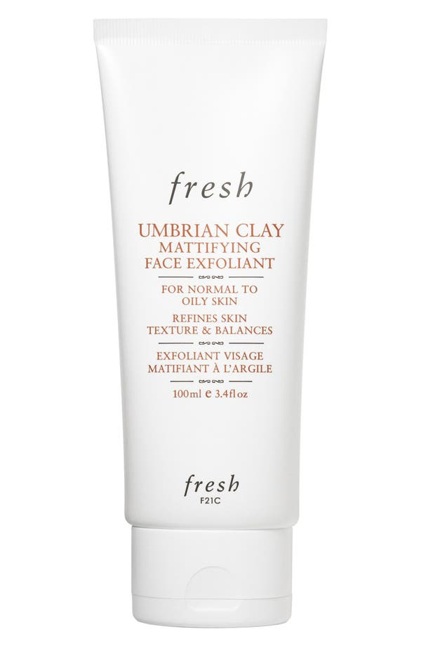Umbrian Clay Mattifying Face Exfoliant,                         Main,                         color, No Color