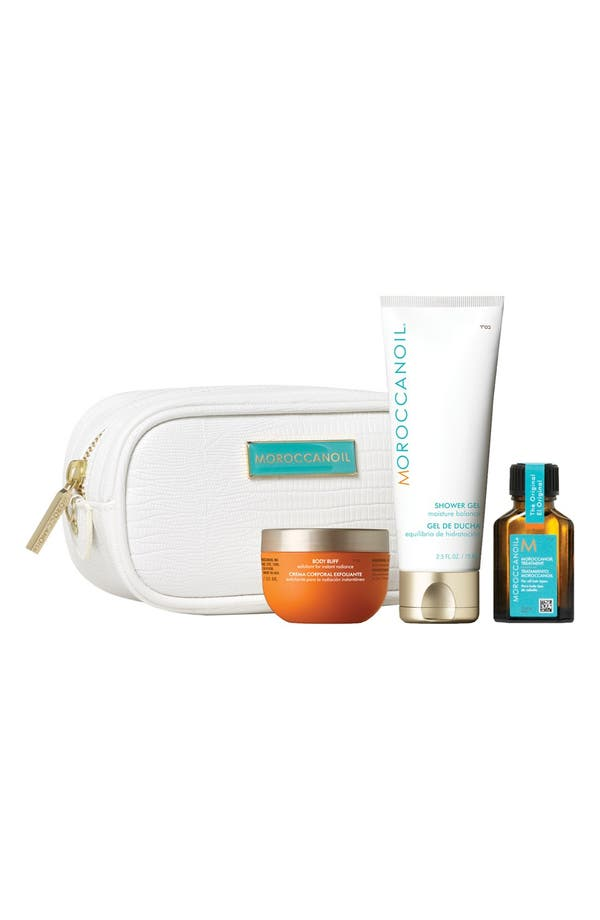 Alternate Image 1 Selected - MOROCCANOIL® 'Cleanse' Travel Luxuries Set