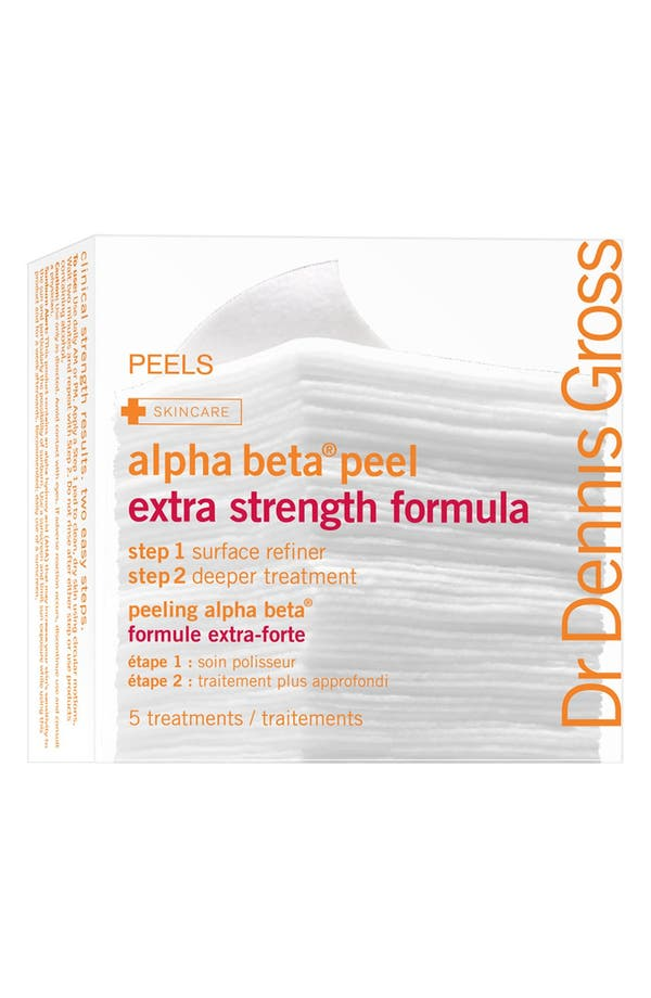 Main Image - Dr. Dennis Gross Skincare Alpha Beta® Peel Extra Strength Formula - 5 Applications
