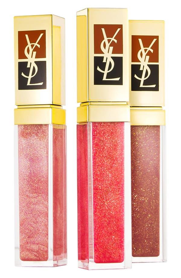 Alternate Image 1 Selected - Yves Saint Laurent 'Golden Gloss' Lip Trio ($90 Value)