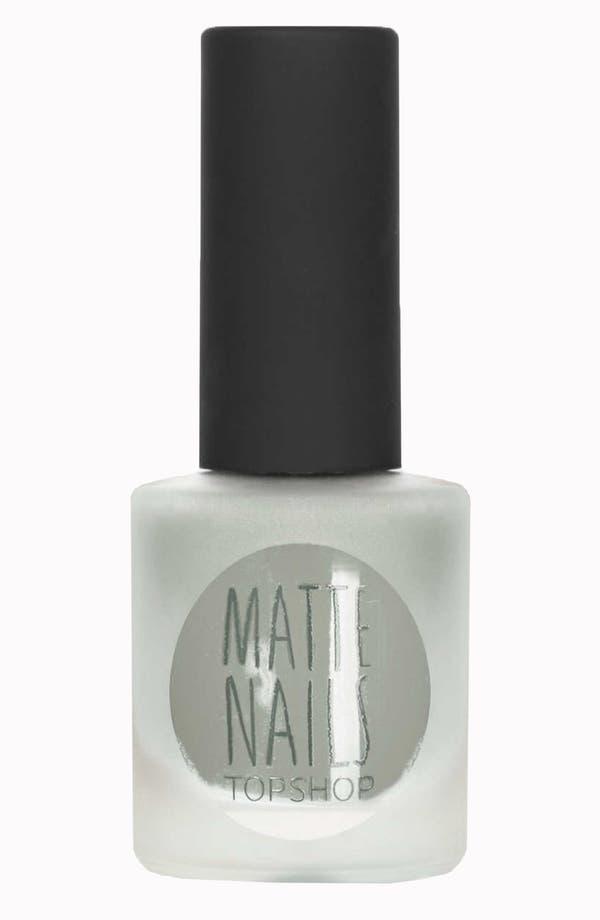 Main Image - Topshop Matte Nail Polish (2 for $14)