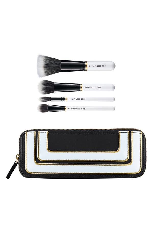 Alternate Image 1 Selected - M·A·C 'Stroke of Midnight' Mineralize Brush Kit (Limited Edition) ($141 Value)