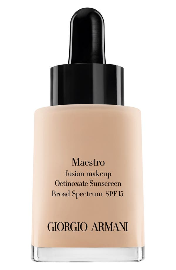 Alternate Image 1 Selected - Giorgio Armani 'Maestro' Fusion Foundation Broad Spectrum SPF 15