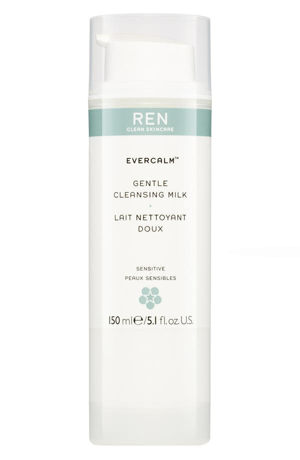 Alternate Image 1 Selected - REN 'Evercalm™' Gentle Cleansing Milk