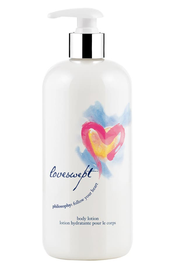 'loveswept' body lotion,                             Main thumbnail 1, color,                             No Color
