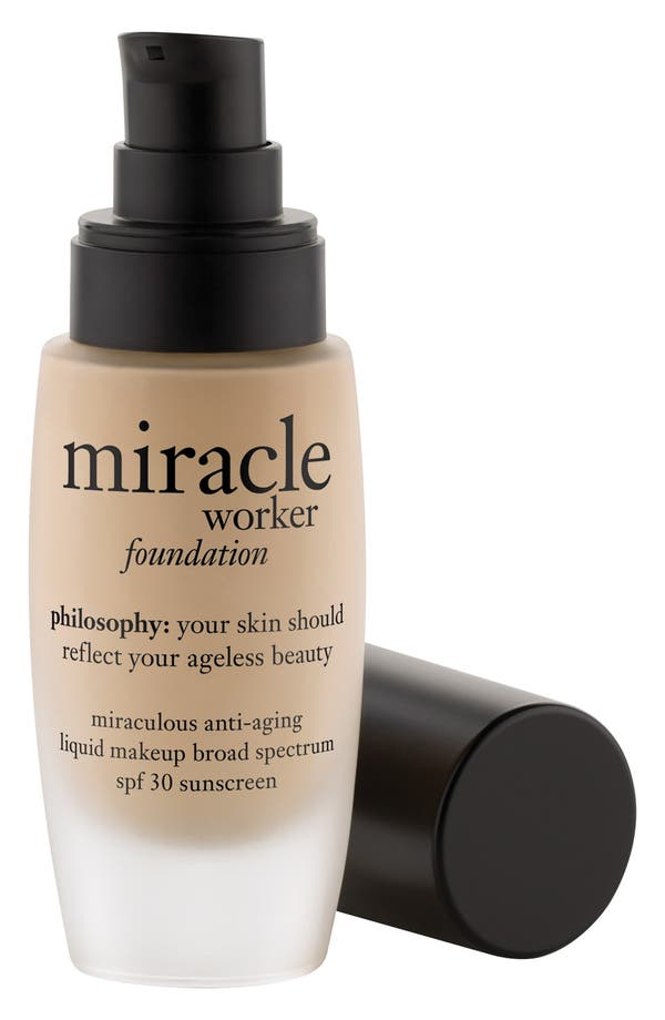 'miracle worker' miraculous anti-aging foundation SPF 30,                             Main thumbnail 1, color,                             Shade 3