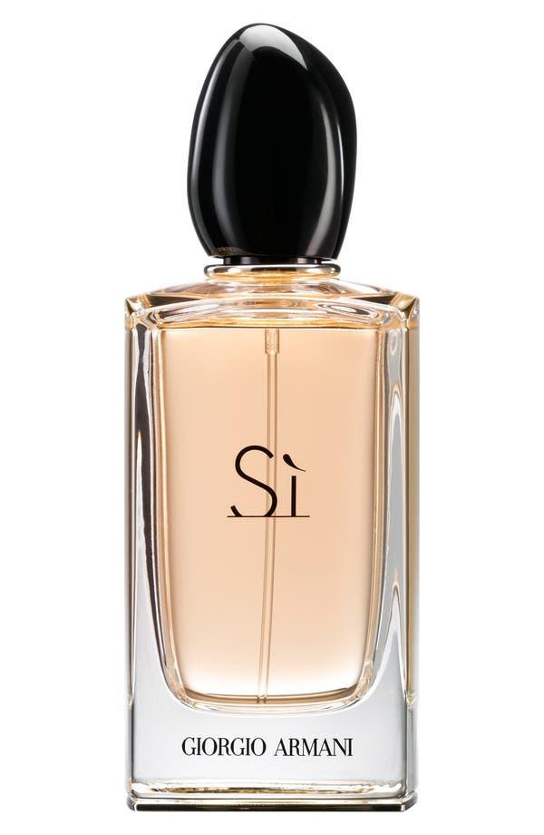'Si' Eau de Parfum,                             Main thumbnail 1, color,                             No Color