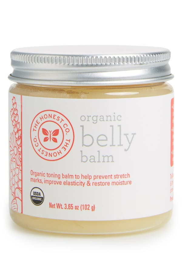 Organic Belly Balm,                             Main thumbnail 1, color,                             White
