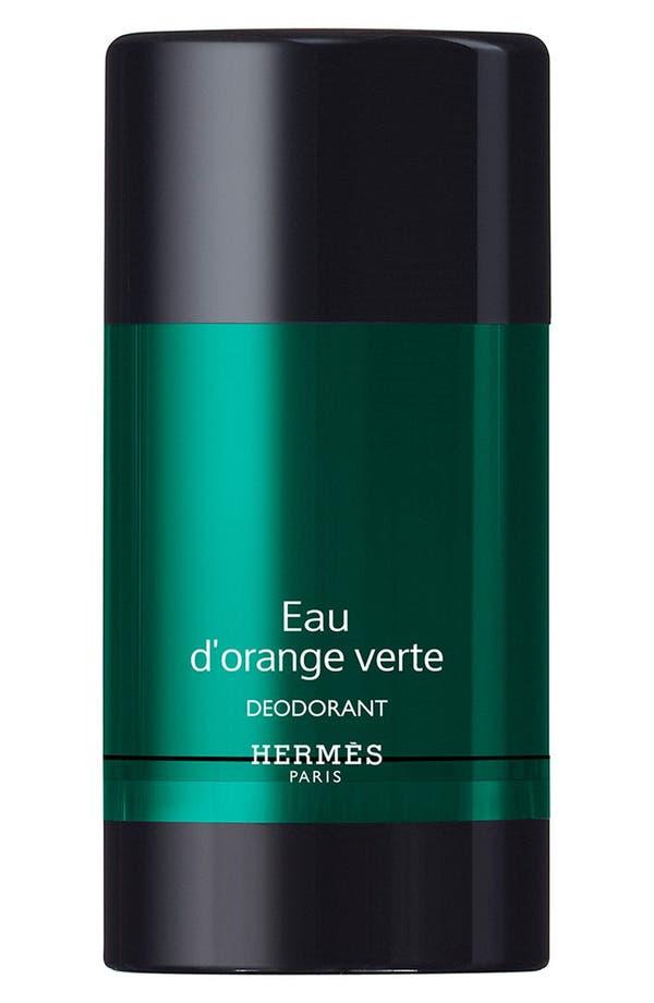 Alternate Image 1 Selected - Hermès Eau d'orange verte - Alcohol-free deodorant stick