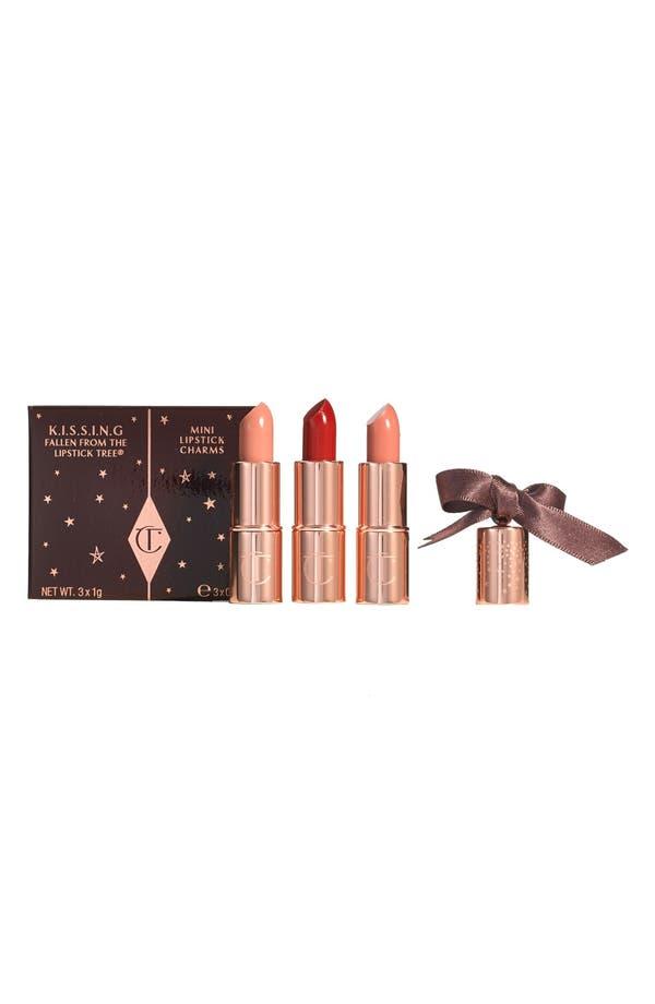 Main Image - Charlotte Tilbury 'K.I.S.S.I.N.G.' Mini Lipstick Charm Trio (Limited Edition)