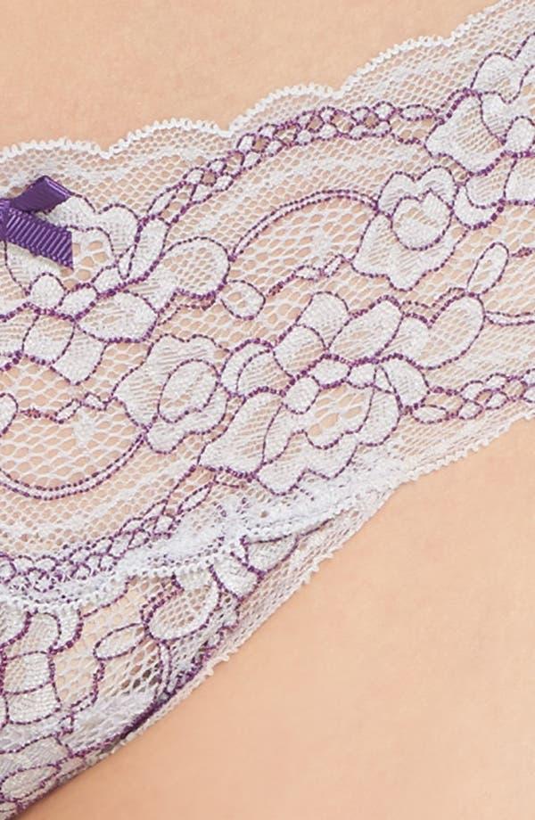 Alternate Image 4  - Skarlett Blue 'Obsessed' Lace Thong
