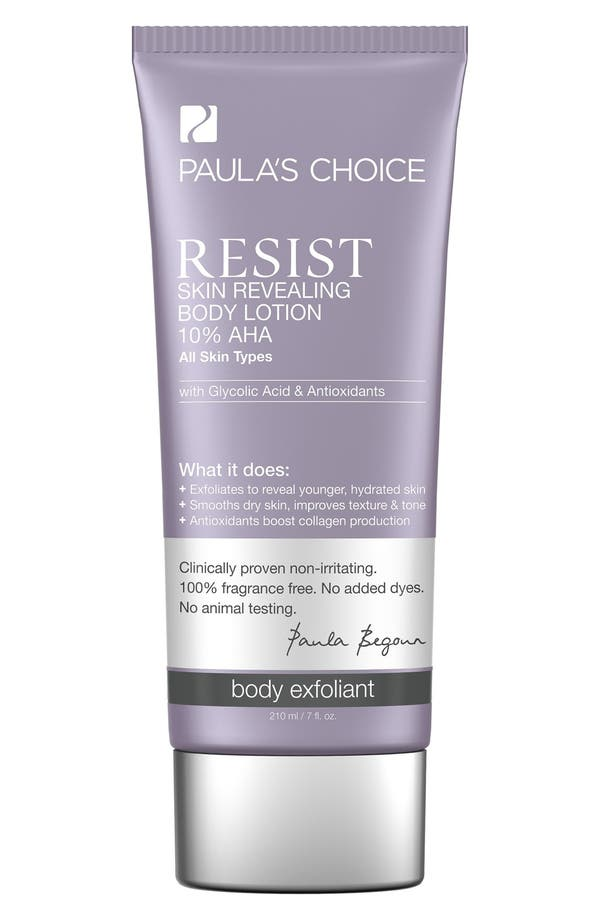 Resist Skin Revealing Body Lotion 10% AHA,                             Main thumbnail 1, color,                             No Color