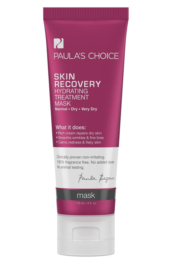 Skin Recovery Hydrating Treatment Mask,                             Main thumbnail 1, color,                             No Color